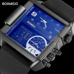 Montre homme BOAMIGO numérique mécanique