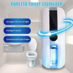 Stérilisateur UV de toilette Intelligent rechargeable et solaire automatique