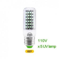 Ampoule UV-C germicide UV désinfectant E14 GU10  E27