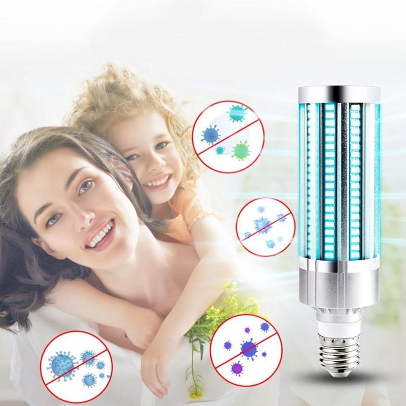 Ampoule UV germicide 60W LED - Ozone UVC Ultraviolet