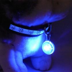 Pendentif à LED pour chien ou chat Plusieurs couleurs aux choix