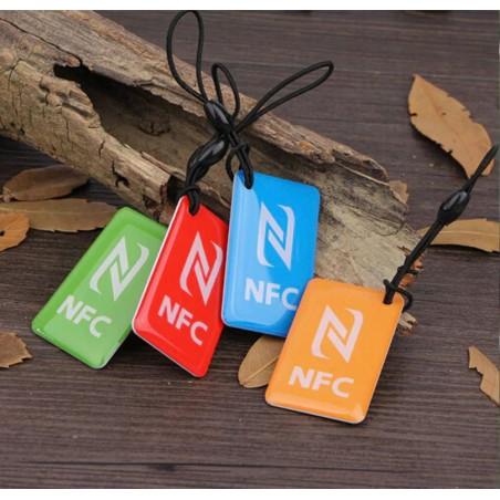 Porte clef NFC codé