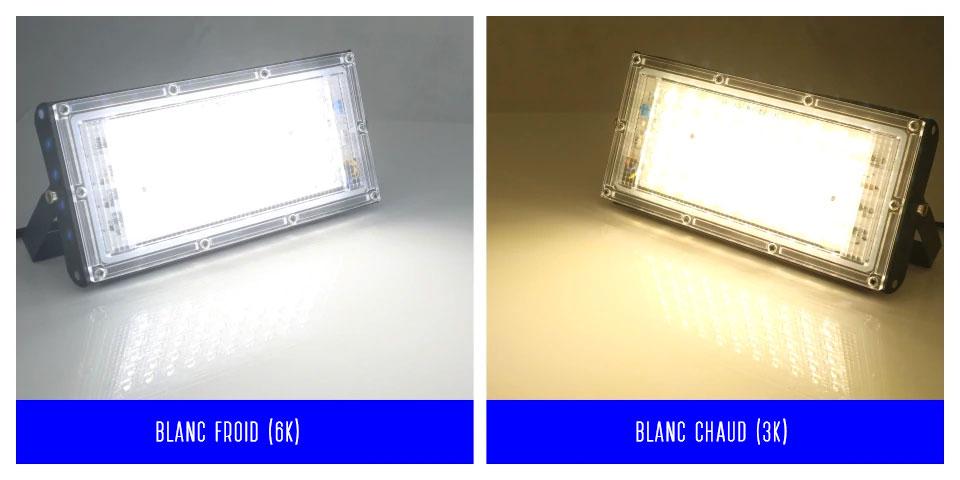 Le Jeune moderne.Accessoires-6 x Projecteur 50W LED 220V extérieur IP65 étanche-Lot de 6projecteurs LED 50w220V extérieur IP65 étanche. Faites de votre terrasse un endroit convivial bien éclairé à prix doux avec ce lot de6 projecteurs LED 50W étanches pour extérieur. Flux lumineux: 4500lm (280w environ en équivalence ampoule incandescence). Ultra plat, très léger et très facile à poser.LED SMD 2835 à haut rendement.