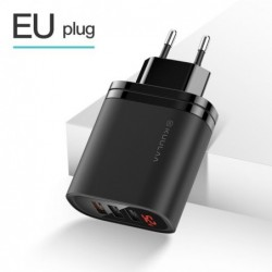 Chargeur USB 3 ports 30W Quick Charge 3.0