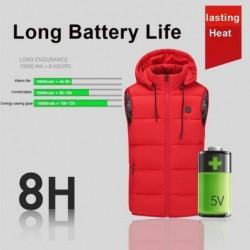 Vestes chauffantes USB à batterie pour l'hiver